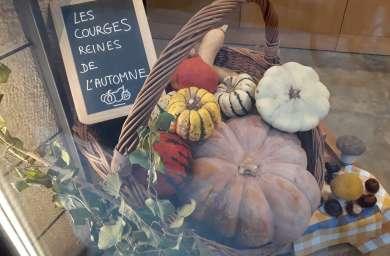 Les Courges d'automne!