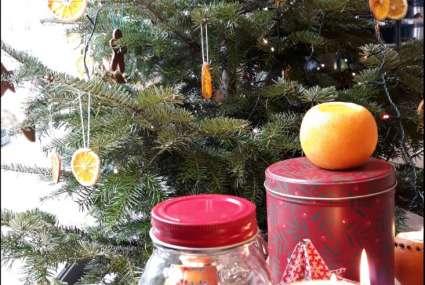 Notre déco de Noël naturelle et vitaminée!